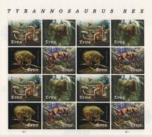 USA (2019) - MS -  /  Dinosaurios - Dinosaures - Dinosaurus - Dinosaurs - Tyrannosaurus Rex - UNUSUAL 3D Motion - Francobolli
