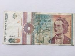 ROMANIA P99 1000 LEI 09.1991 VF - Rumania