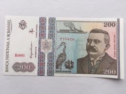 ROMANIA P100 200 LEI 12.1992 UNC - Rumania