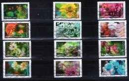 FRANCE AUTOADHESIFS OBLITERES-SERIE COMPLETE DE 12 TIMBRES-N° YVERT 1707 A 1718-ANNEE 2019-CARNET ECLOSION 2019 - Luchtpost