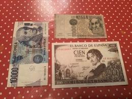 LOT DE 3 BILLETS VOIR LE SCAN - Mezclas - Billetes