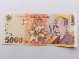 ROMANIA P107 5000 LEI 1998 UNC - Rumania