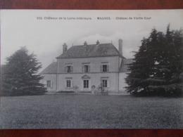 44 - MAUVES - Château De Vieille Cour. (Rare) - Mauves-sur-Loire