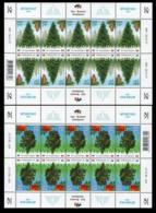 2017Estonia 905KL-06KLJoint Issue Estonia-Romania. Forest Species64,00 € - Joint Issues