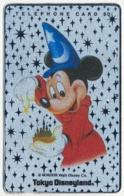 JAPAN - JAPON - GIAPPONE DISNEY MICKEY MOUSE WIZARD PHONECARD TELEPHONE CARD TELECARTE TELEFONKARTE - Disney