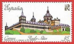 España. Spain. 1989. Patrimonio Nacional. San Lorenzo De El Escorial - Klöster