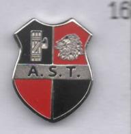 A.S.T.  Trastevere Calcio Distintivi FootBall Pins Roma Soccer Fascio Spilla Italy Lazio - Calcio