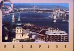 Budapest - Ponte Di Capene - Formato Grande Viaggiata Mancante Di Affrancatura – E 13 - Ungheria