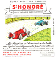 B St H/ Buvard   Biscottes St Honoré (dessin N= 9 ) - Biscotti