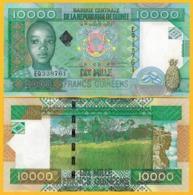 Guinea 10000 (10,000) Francs P-42b 2008 UNC Banknote - Guinea