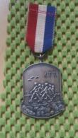 Medaille :Netherlands  -  Medaille - Wandelvereniging K.T.T , Twente - Medal - Walking Association - Nederland