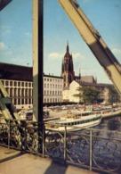 Frankfurt Ama Main - Blick Vom Eisemen Steg - Formato Grande Viaggiata – E 13 - Non Classificati