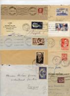 LOT DE 25 LETTRES REGIME INTERIEUR 1° ECHELON - 1921-1960: Période Moderne