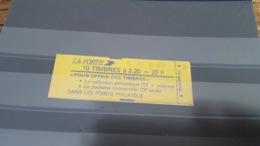 LOT 473667 TIMBRE DE FRANCE NEUF** LUXE - Markenheftchen