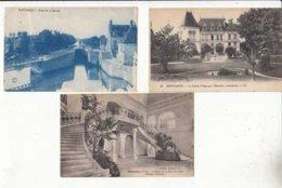 CPA France 45 - Montargis - 3 Cartes     - Achat Immédiat  (cd005) - Montargis