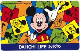 JAPAN - JAPON - GIAPPONE DISNEY MICKEY MOUSE PHONECARD TELEPHONE CARD TELECARTE TELEFONKARTE - Japon