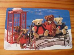 Phonecard Japan 110-011 Teddy Bear - Japon