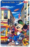 JAPAN - JAPON - GIAPPONE DISNEY MICKEY AND MINNIE MOUSE PHONECARD TELEPHONE CARD TELECARTE TELEFONKARTE - Japon
