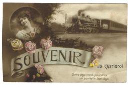 Z02 - Charleroi - Souvenir De - Train - Charleroi