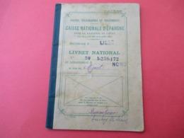 Livret D'Epargne/P T T / Caisse Nationale D'Epargne/Livret National/Département Du Nord/LILLE/Mignot/1943   VPN287 - Ohne Zuordnung