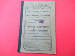 Livret D'Epargne/P T T / Caisse Nationale D'Epargne/Livret National/Département Du Nord/LILLE/Mignot/1930   VPN288 - Ohne Zuordnung
