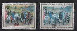 VARIETE  -  1965  -  DUC  De  BERRY  N° 1457 A ** Et  1457 D **. - Errors & Oddities