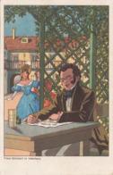 FRANZ SCHUBERT Im Vaterhaus - Künstlerkarten