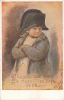 RUSSISCHE KÜNSTLERKARTE, Kleiner NAPOLEON - Künstlerkarten