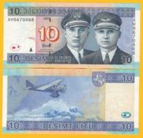 Lithuania 10 Litu P-68 2007 UNC Banknotes - Lituania