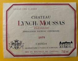 11792  -  Château Lynch-Moussas 1979 Pauillac - Bordeaux