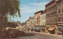 QUEBEC FABRIQUE STREET, Karte Gel.1954 - Quebec