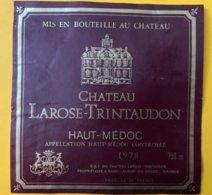 11793  -  Château Larose-Trintaudon 1978 Haut Médoc - Bordeaux