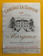 11794  -  Château La Gurgue 1993 Margaux - Bordeaux