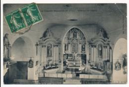 CPA 49 LA CHAPELLE ROUSSELIN Intérieur De L'Eglise - Chemille