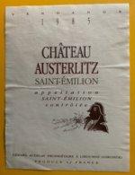 11796  -  Château Austerlitz 1985 Saint-Emilion - Bordeaux