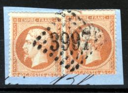 LOSANGE GC 3997 Tours Sur Deux NAPOLEON N°23 + NUANCE / DISPERSION D'UNE COLLECTION!! - 1862 Napoleon III