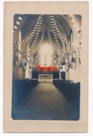 CPA 85 GRUES Carte-photo Unique Intérieur De L'Eglise - Saint Michel En L'Herm