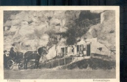 Valkenburg - Rotswoning - Paard En Wagen - 1916 - Langebalk - Valkenburg