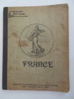 CAHIER DE CHANSONS (CAHIER D'ÉCOLIER REMPLI À MOITIÉ) 1887 OU 1907 - Manuscrits