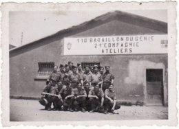 Photo  **110 éme Bataillon Du Génie, 21 Compagnie, Atelier** - Regiments