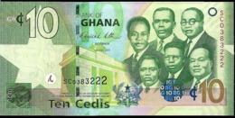 GHANA 10 CEDIS AÑO 2011 UNC - Ghana