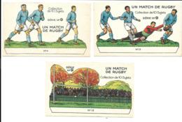KB022 - CHROMOS CHOCOLAT REVILLON - UN MATCH DE RUGBY - Rugby