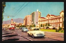 Chile Santiago Universidad University Ancien Cars American Vehicles Rppc Postcard (w5-685) - Chile