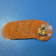 Lot 16 Tazos Chipicao Minions All Diferent - Andere Verzamelingen