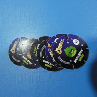 Lot 6 Tazos Chipicao Angry Birds Space All Diferent - Andere Verzamelingen