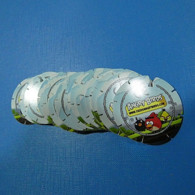 Lot 23 Tazos Angry Birds All Diferent - Other Collections
