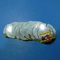 Lot 23 Tazos Angry Birds All Diferent - Altre Collezioni