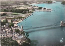 Bv - Cpsm Grand Format LORIENT - Le Pont Suspendu St Christophe (Lapie) - Lorient