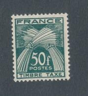FRANCE - TAXE - N°YT 88 NEUF* AVEC CHARNIERE - 1946/55 - Taxes