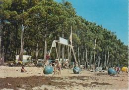 CPSM Andernos-les-Bains - Camping Fontaine-Vieille (avec Club De Plage) - Andernos-les-Bains